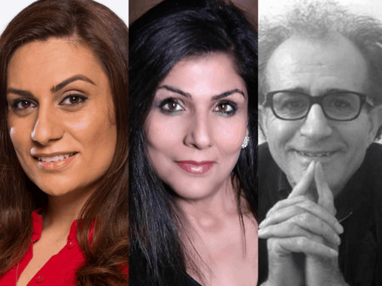 PEN International Day of the Imprisoned Writer  /  Freedom of speech & censorship  With Sami Shah, Roza Germian, Samah Sabawi and Mammad Aidani