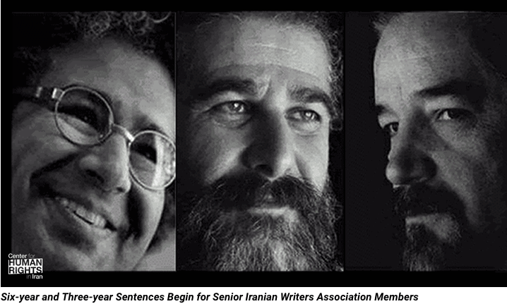 Prominent Iranian Writers Sent to Prison for Peaceful Dissent
