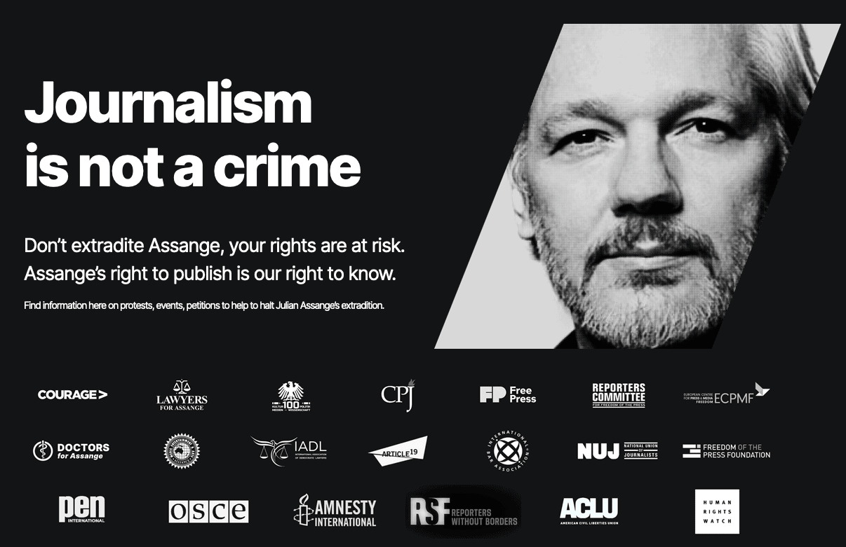 Assange Updates and  25 Major Human Rights Groups Sign Letter To Biden To Drop Indictment