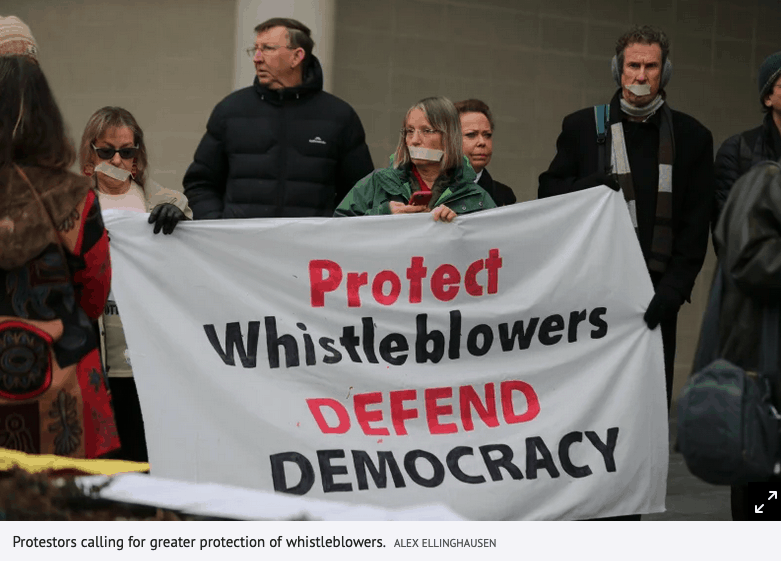 The cost of courage: Australia must do more to protect whistleblowers
